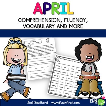 April Fluency Packet