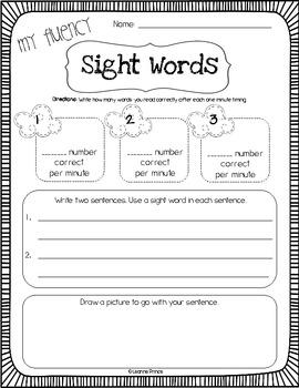 April Fluency Practice