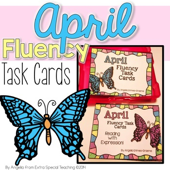 April Fluency Practice Task Cards