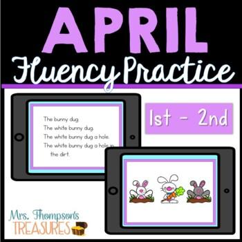 April Fluency Sentences
