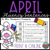 April Fluency Strips