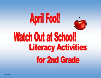 April Fool! Watch Out School!