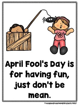 April Fool's Day (A Sight Word Emergent Reader and Teacher Lap Book)