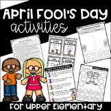 April Fool's Day Activities and Prank {For Upper Elementary}