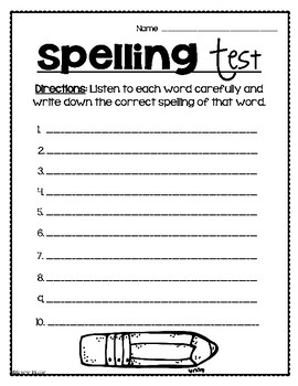 April Fool's Day Challenging Spelling Test Classroom Prank