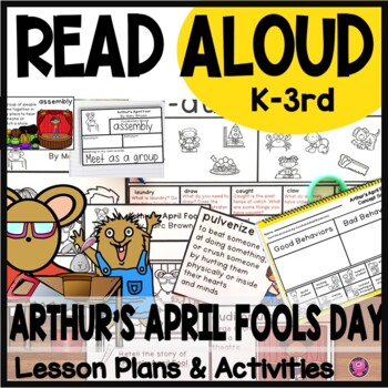 Arthur's April Fool Day Close Read Lesson Plans and Activities