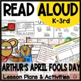 April Reading Comprehension Activities for April Fools Day
