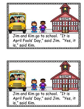 April Fools' Day - Emergent Reader
