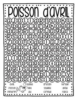 April Fool's Day - French - Poisson d'avril!