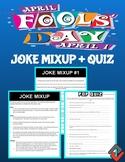 April Fool's Day: Joke Mixup & Pop Quiz