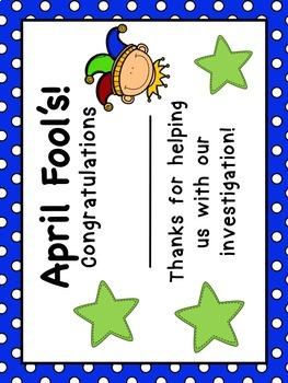 April Fool's Day Math Investigation US