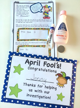 April Fool's Day Maths Investigation AUS UK
