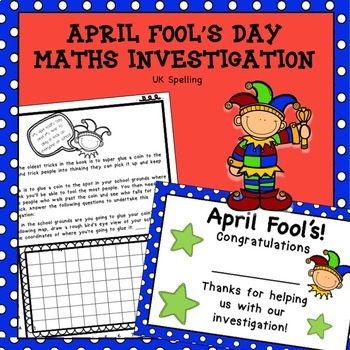 April Fool's Day Maths Investigation AUS UK