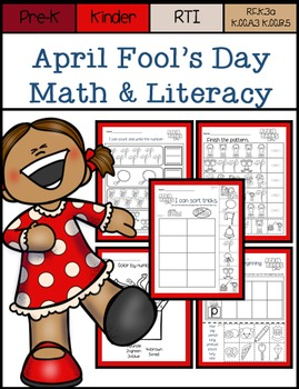 April Fool's Day NO PREP Math and Literacy
