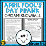 April Fool's Day Prank