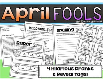 April Fool's Day Prank Bundle