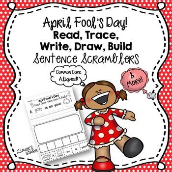 April Fool's Day Sentence Scramblers