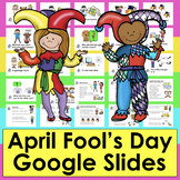 April Fool's Day GOOGLE SLIDES Jokes & Songs With Sound PDF  LINK