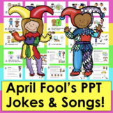 April Fools Day Slide Show With Jokes and Songs With Sound
