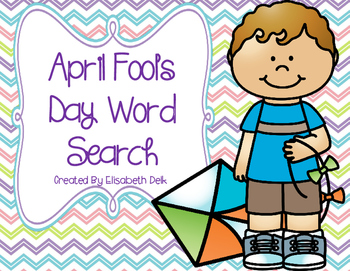 April Fool's Day Word Search