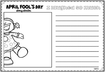 April Fool's Day - Writing