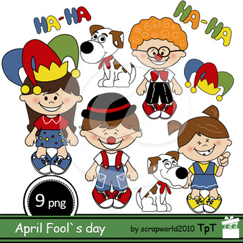 Fool's Day clipart