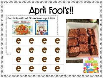 April Fool's Joke