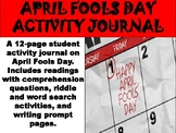 April Fool's Reading Activity Journal