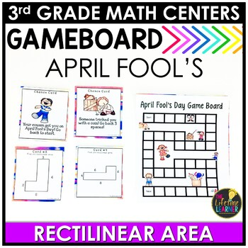 April Fool's Day Math Game - Rectilinear Area