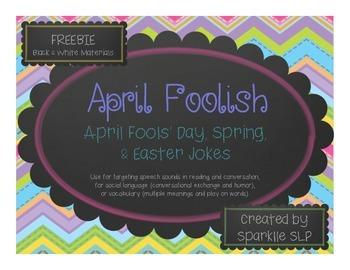 April Foolish {Freebie}