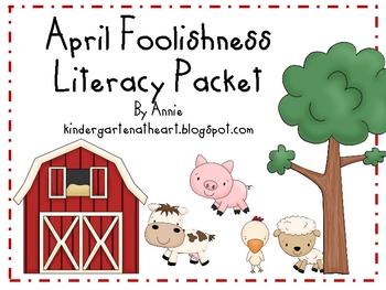 April Foolishness Literacy Pack