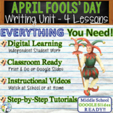 April Fool's Day Writing BUNDLE! - Argumentative Persuasive Expository Narrative