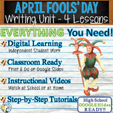 April Fool's Writing BUNDLE! - Argumentative, Persuasive, Expository, Narrative
