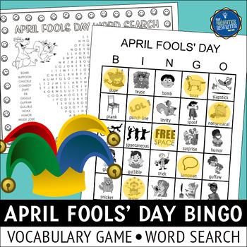 April Fools Bingo