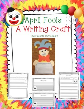 April Fools Craft and Writing
