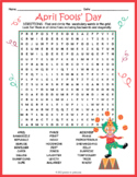 April Fool's Day Word Search Puzzle