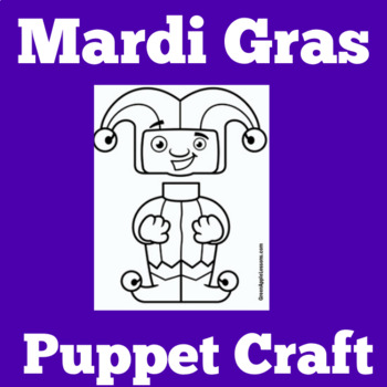 April Fools Day Activity  | Mardi Gras Craft | Clown Craft | Jester Craft