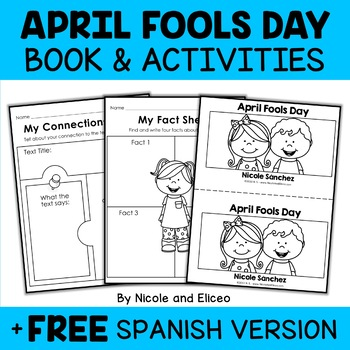 Mini Book and Activities - April Fools Day