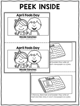 April Fools Day Activities and Book