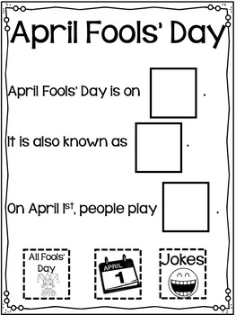 April Fools' Day Crafts and Activities