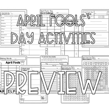 April Fools' Day Activities