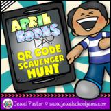 April Fools Day Activities (April Fools Day QR Codes Scave