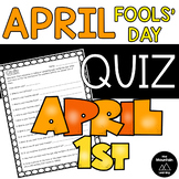 April Fools' Day Quiz