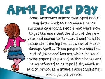 April Fools Day Activities Bundle
