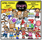 April Fools Day Clip Art Bundle {Educlips Clipart}