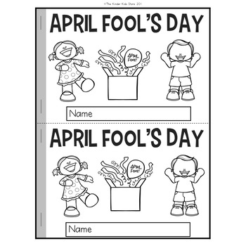 April Fools Day Emergent Reader