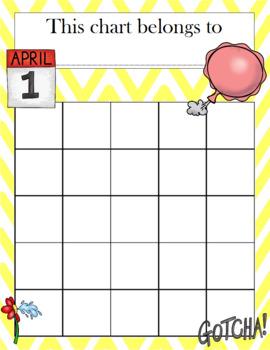 April Fools' Day Incentive Chart