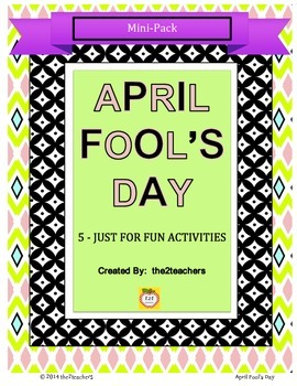 April Fool's Day Just For Fun Mini Pack