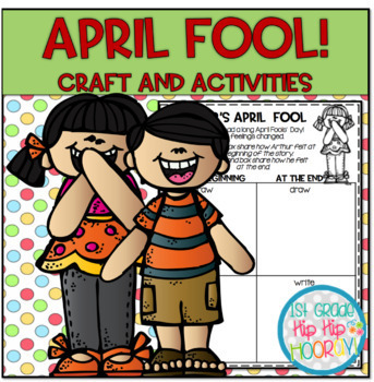 April Fools' Day Literacy Activities and Craft!!