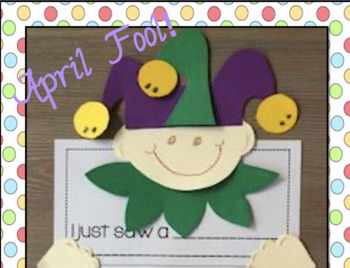 April Fools' Day Literacy Activities and Crafts!!